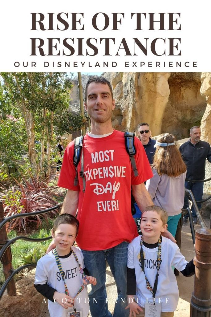 Billy turned a lot of heads in his new shirt: Most Expensive Day Ever. I'm taking you on a quick tour through the new Star Wars Ride: Rise of the Resistance. Here is a little insight into how long it is and what to expect.  . Disneyland's new Star Wars ride details.