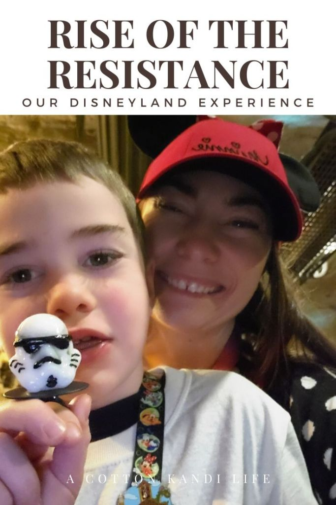 I used snacks I bought at home to get us through the lines. I'm taking you on a quick tour through the new Star Wars Ride: Rise of the Resistance. Here is a little insight into how long it is and what to expect.  . Disneyland's new Star Wars ride details. Everything you need to know about Rise of the Resistance.