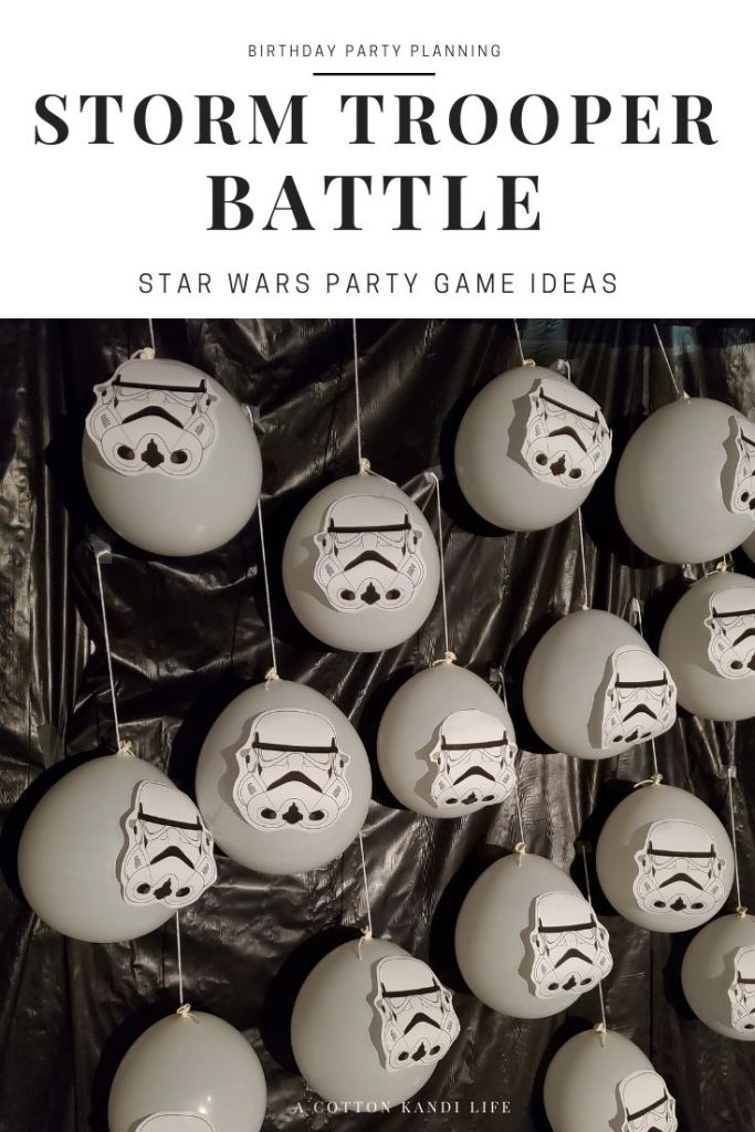 Prepare to battle the Storm Troopers and free General Joy from the Carbonite. AKA the Birthday Candle Lighter, to eat the cupcakes.  * Star Wars Birthday Games