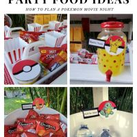 Pokemon Party Food Ideas | Concession Stand