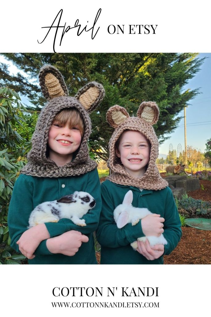 The Easter Bunny is coming! Bunny Character Hoods are in the Etsy Shop and hopping out the door every day.  . Shop Here: https://www.etsy.com/listing/557883446/hooded-scarf-bunny-family-costumes?ref=shop_home_feat_1&pro=1 . #cottonnkandi #easteriscoming #easterbunny #springtrends #springtrend #springfashion #etsyhandmade #etsysellersofinstagram #etsyfind #etsygifts #etsyhunter #etsysellers #etsysale #etsyforall #etsyusa #shopetsy #etsyfinds #etsyshopowner #craftsposure #toddlerfashion #etsystore #creativelifehappylife #makersvillage #makersmovement #supporthandmade #calledtobecreative #favehandmade #etsylove #creativepreneur #shophandmade