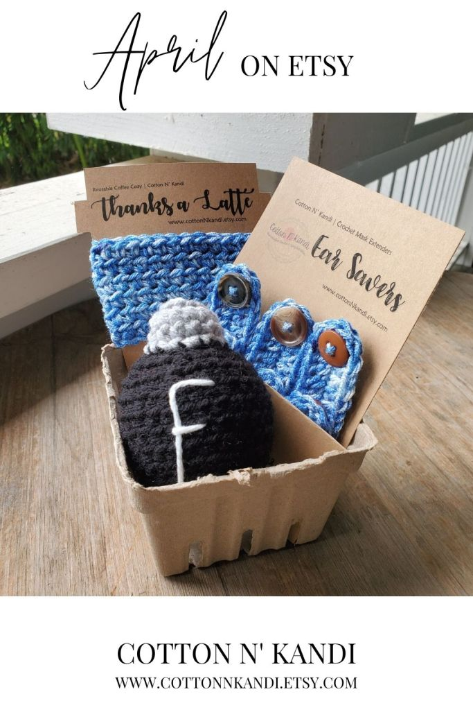 Send the gift of Appreciation to our Essential Workers in a candid, accurate, and humorous way with this care package. . It includes one Thanks a Latte Coffee Sweater, a 3-Pack of Ear Saver Mask Extenders and of course, the Infamous F-Bomb, because, well, you know.  . Find this gift set and more Here: https://www.etsy.com/shop/CottonNKandi?ref=seller-platform-mcnav&section_id=22827373 . #cottonnkandi #springtrends #springtrend #springfashion #etsyhandmade #etsysellersofinstagram #etsyfind  #etsygifts #etsyhunter #etsysellers #etsysale #etsyforall #etsyusa #shopetsy #etsyfinds #etsyshopowner  #craftsposure #toddlerfashion #etsystore #creativelifehappylife #makersvillage #makersmovement #supporthandmade #calledtobecreative #favehandmade #etsylove #creativepreneur #shophandmade #kidsfashion #creativityfound