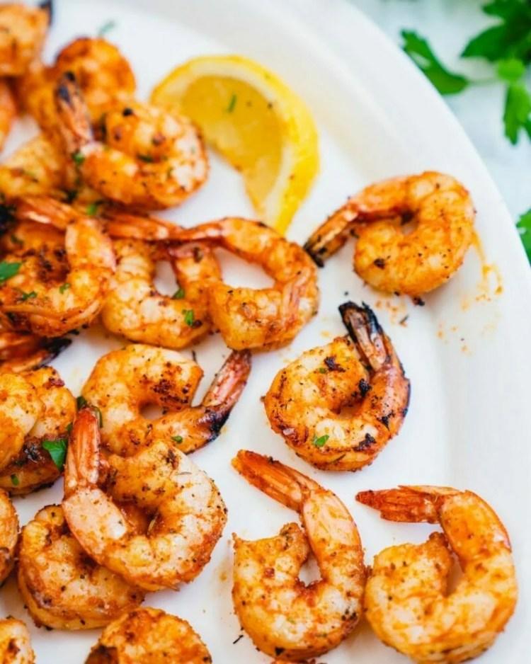 Cajun grilled shrimp