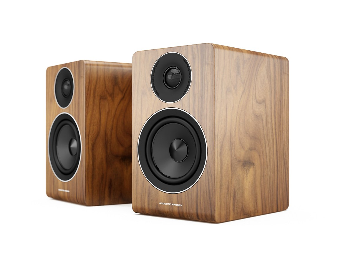 AE100 (Walnut, No Grille)
