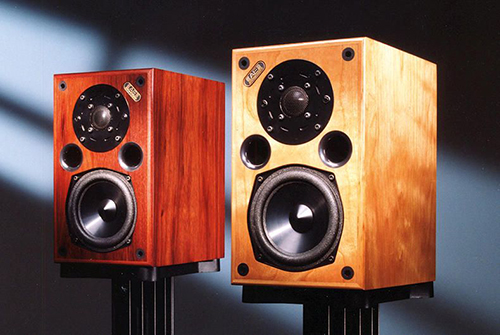 Acoustic Energy's first loudspeaker, the AE1 compact monitor speaker
