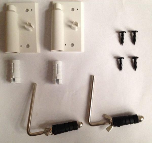 Acoustic Energy Aego M Satellite Wall Brackets (White)