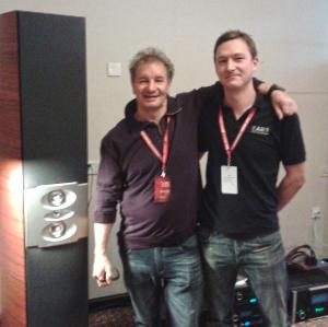 Phil Jones and AE MD Mat Spandl