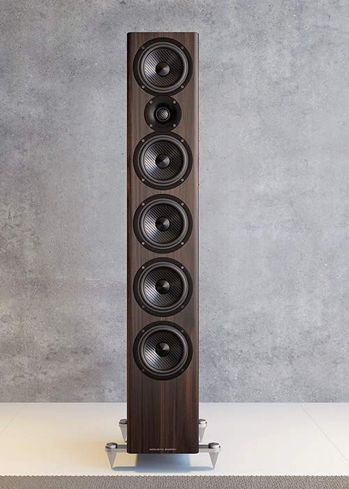 Acoustic Energy AE520 Flagship floorstanding model reviewed by HiFi Nl in The Netherlands