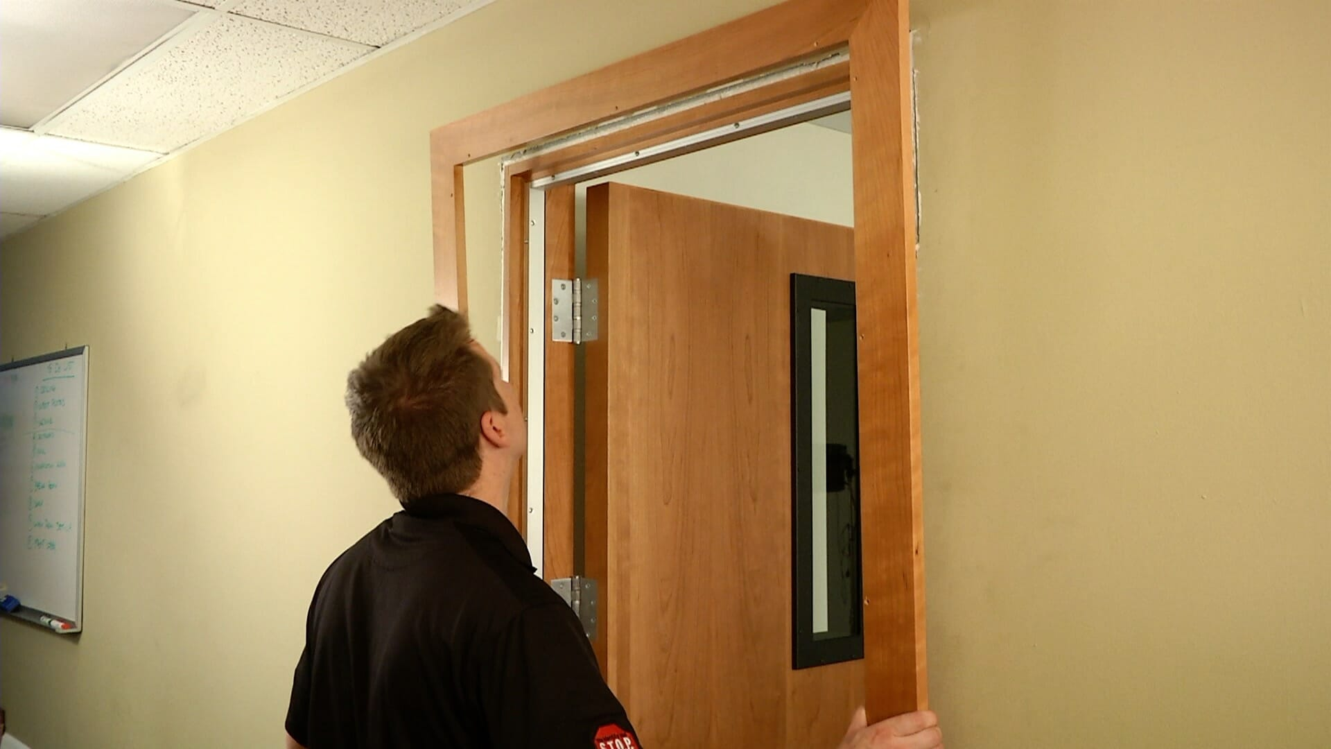 Soundproof Door Install Acoustical Surfaces