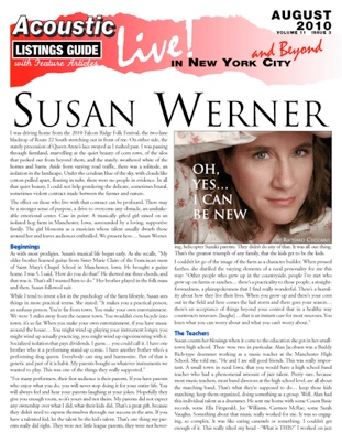 Susan Werner Oh Yes I Can Be New By Richard Cuccaro I