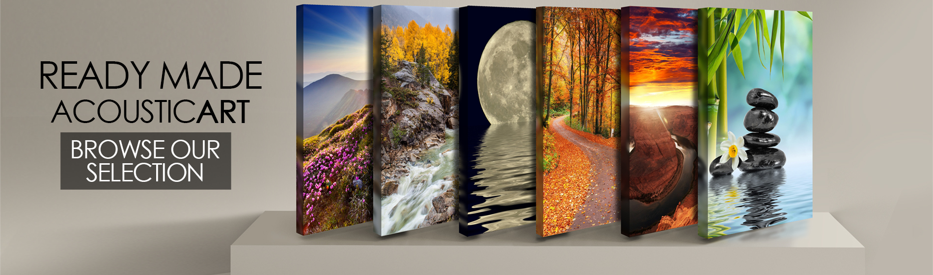 acoustic art panels decorative