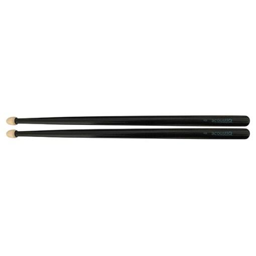 acoustIQ Grand Slam IQ1 Snare Drum Sticks (Black)