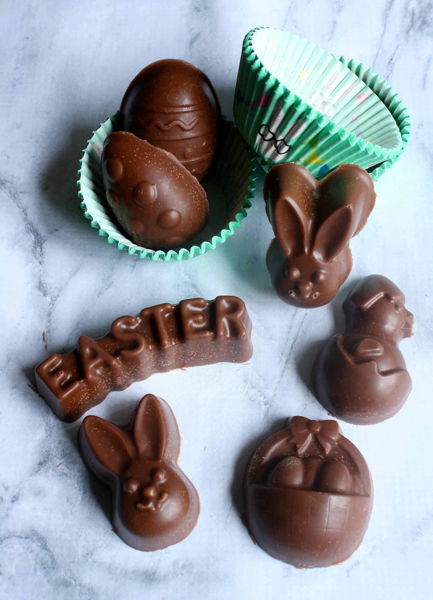 Chocolate saudável para Páscoa pronto em 5 minutos com apenas 5 ingredientes