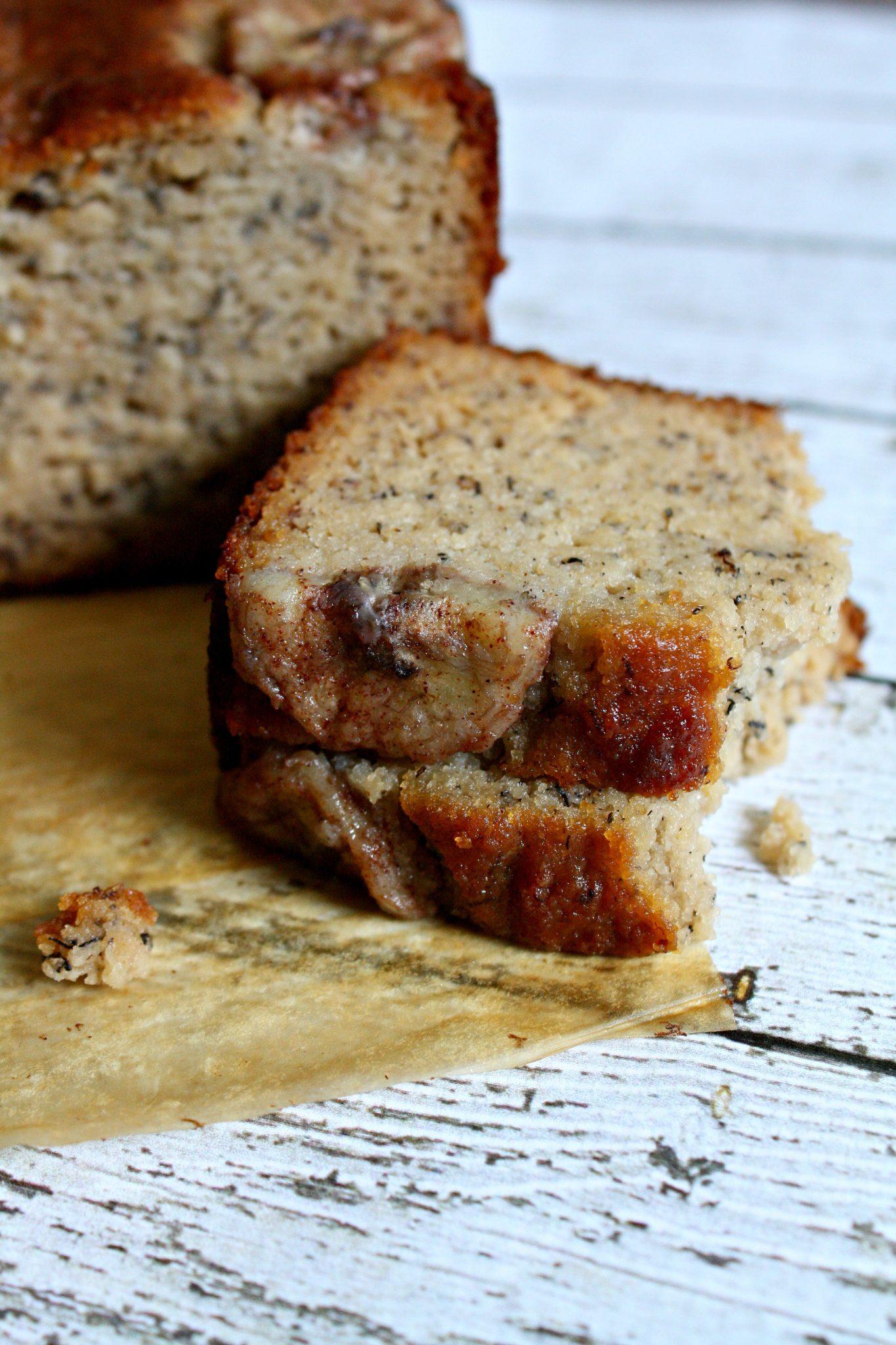 Receita de bolo de banana sem glúten e sem lactose! O mais gostoso e rápido que você já experimentou!