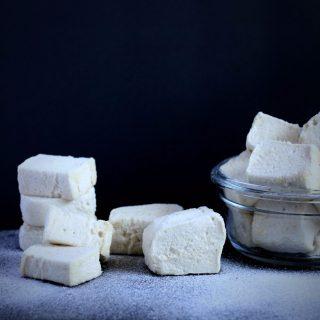 Marshmallow sem açúcar