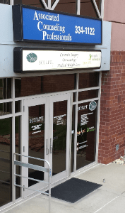 Our front door - Associated Counseling Professionals