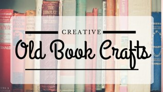 Old books-Creative Old Book Crafts