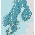 Scandinavia Map Acp Rail