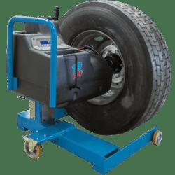 mobile commercial wheel balancer