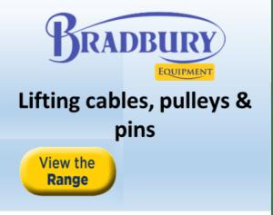 Bradbury cables, pulleys & pins