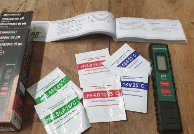 Calibrazione e gestione pH-metro Parkside LIDL