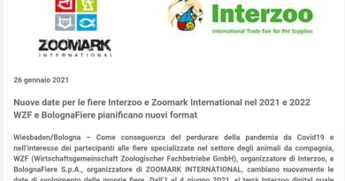 Zoomark e Interzoo annunciano nuove date