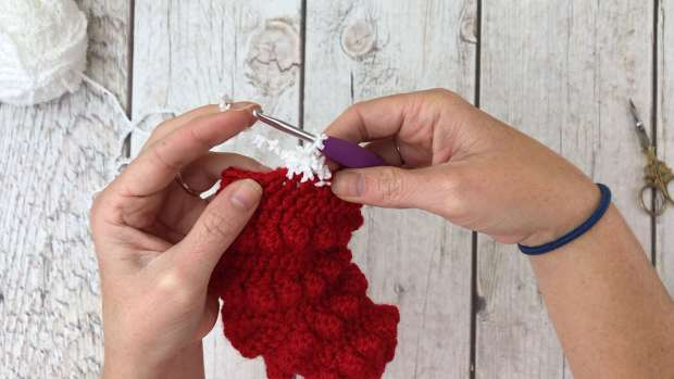 Learn how to crochet a mini Christmas stocking in this beginner-friendly, free crochet pattern. They are perfect for decorating and holding gift cards.
