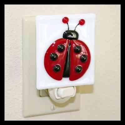Ladybug night light - Ladybug Room