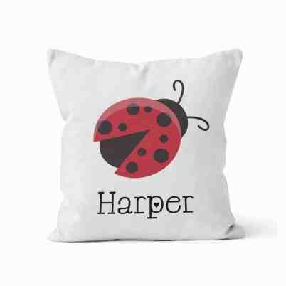 Ladybug Pillow - Ladybug Nursery