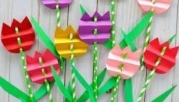 Spring Flower Crafts More Than 20 Kids Crafts A More Crafty Life
