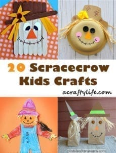 Fall Kid Crafts Easy Fun Autumn Crafts A More Crafty Life