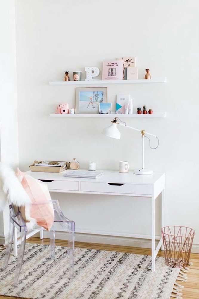 escritorio acrilico