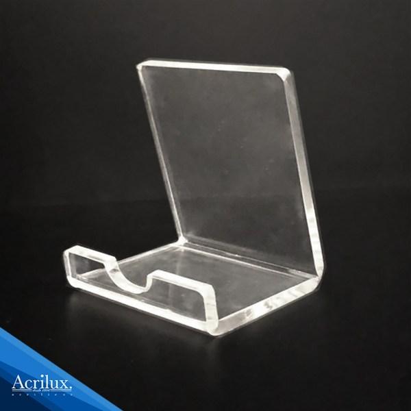 Porta celular de acrílico