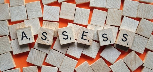 assess scrabble tiles