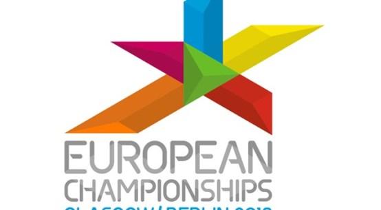 The logo for European Championships 2018