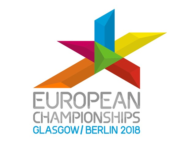 The logo for European Championships 2018