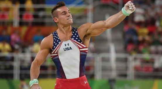 US gymnast Sam Mikulak