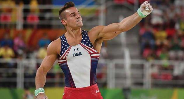 US gymnast Sam Mikulak