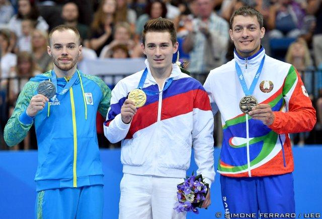 David Belyavskiy, Oleg Verniaiev, Andrey Likhovitskiy
