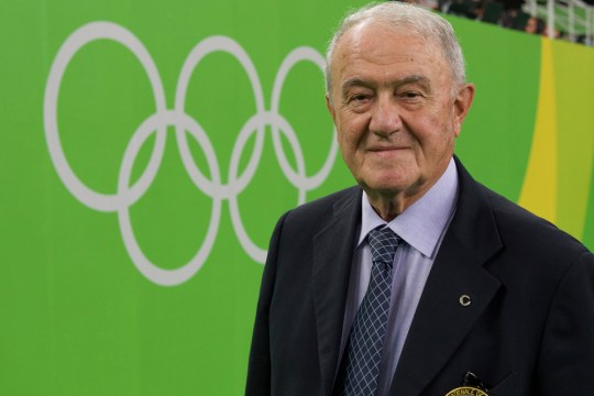 Former FIG president Bruno Grande, who passed away, aged 85