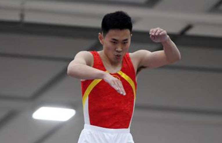 Chinese trampolinist Gao Lei