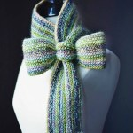 "Crochet Pattern: ""Knit-Look"" Bow Tie Cowl by A Crocheted Simplicity"