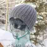Men's Reversible Knit-Look Beanie