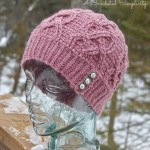 Hearts All Around Cabled Beanie by A Crocheted Simplicity