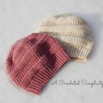 """""""Purl Illusions"""" Slouch by A Crocheted Simplicity"""