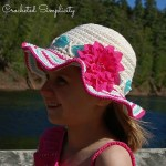 """""""Sweet & Sassy"""" Sunhat by A Crocheted Simplicity"""