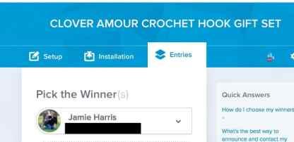Clover Hook WINNER BLACKED OUT