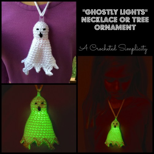 Ghostly Lights Collage