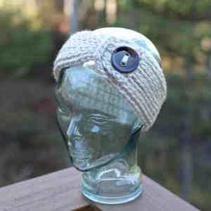 Knit Look Chunky Headwarmer Adult 1