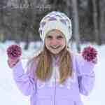 Polka Dot Slouch Crochet Pattern by A Crocheted Simplicity